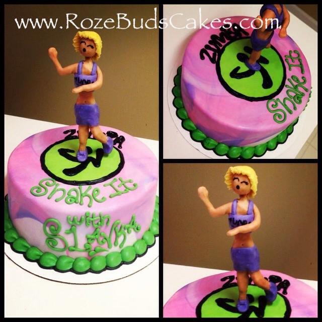 Zumba Birthday Cake Cake Ideas And Designs