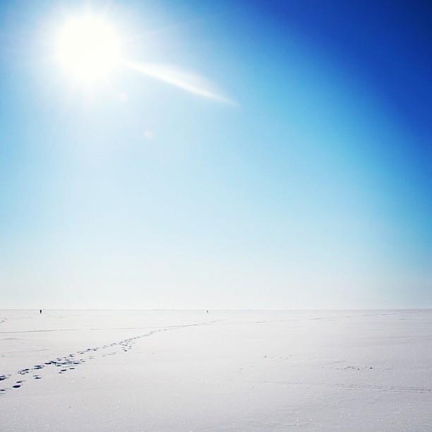 #primavera #sole #cielo #neve #passeggiare #spring #sun #snow #walk #today #oggi #colore #azzurro #:)