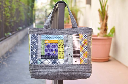 perfect quilted tote front