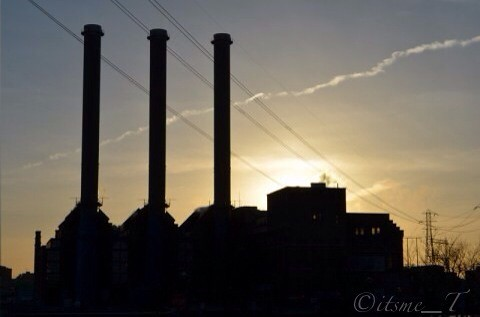 Photo of the Day #POTD March 11, 2013 Sunset in the city by its me _T via I {heart} Rhody