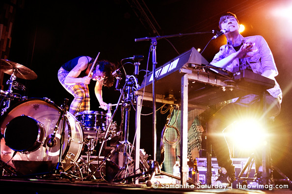 Matt and Kim @ the Observatory, Santa Ana 3/8/13