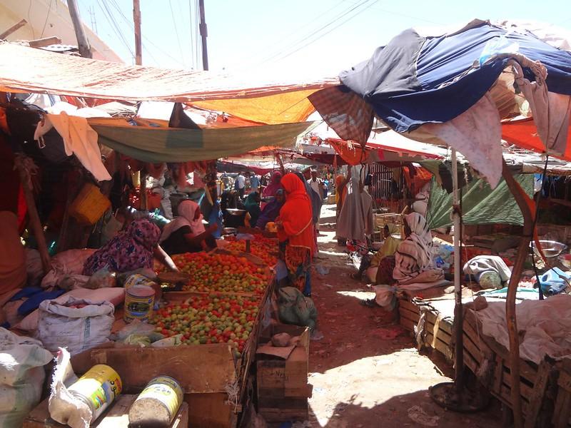 Mercado em Hargeisa
