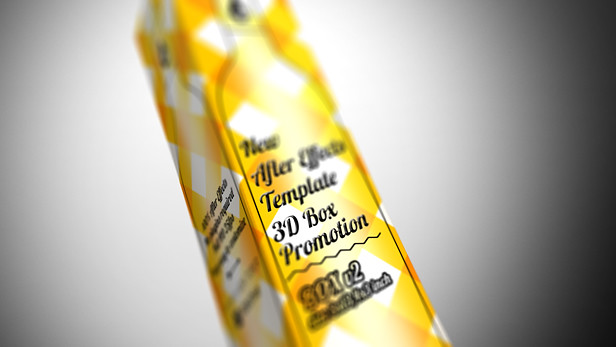 3D Box Promotion - 2