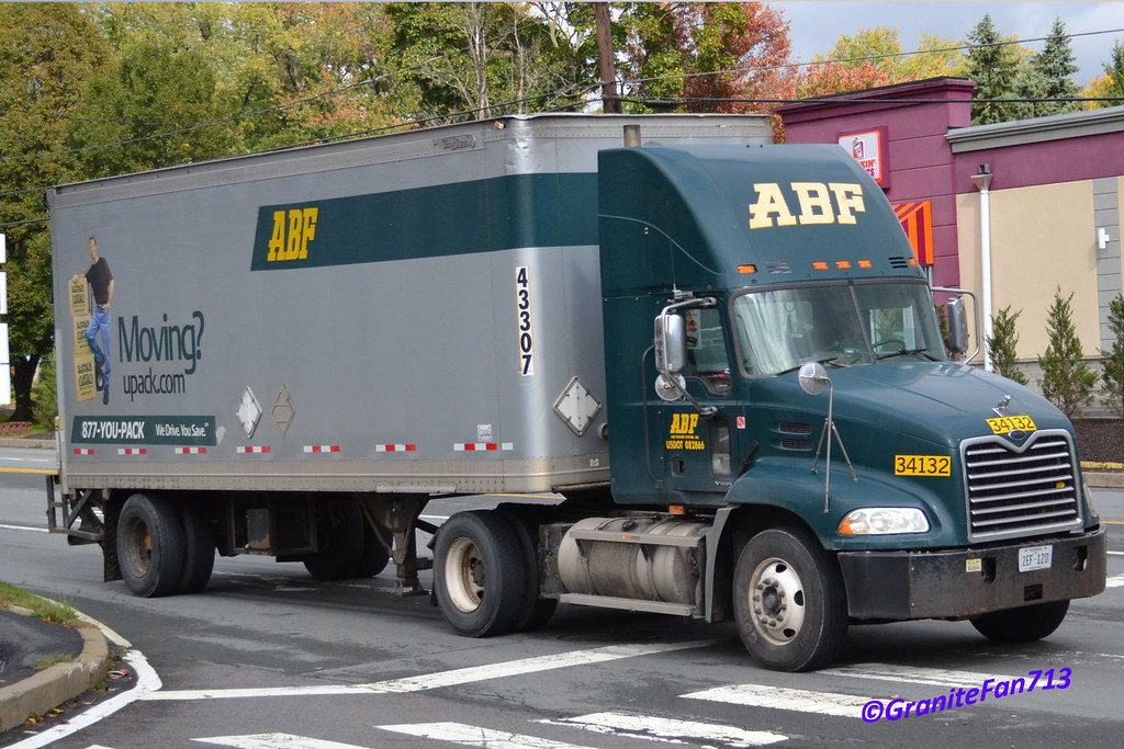ABF Freight Mack Vision with a Liftgate Pup