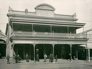 John Bull Hotel, Currie Street, 1912