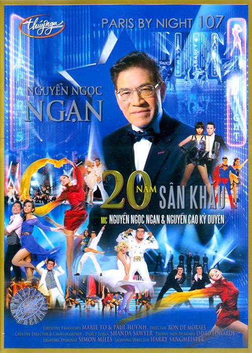 Thúy Nga Paris By Night 107: Nguyễn Ngọc Ngạn 20 Năm Sân Khấu 2013 (2 DVD)