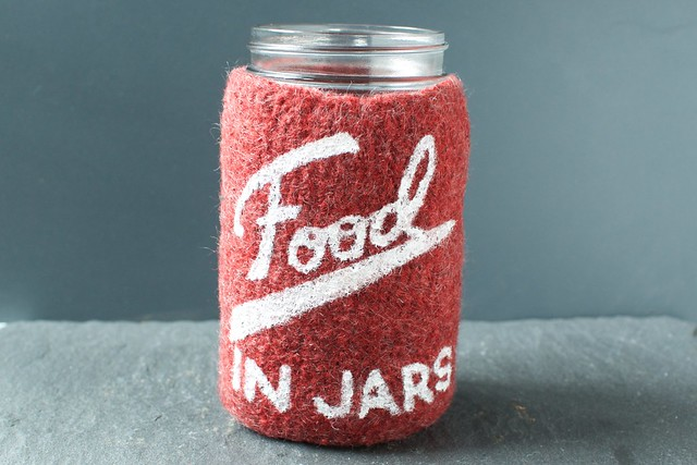 food in jars cozy