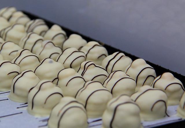 De lekkere mokkachocolatajaja pralines