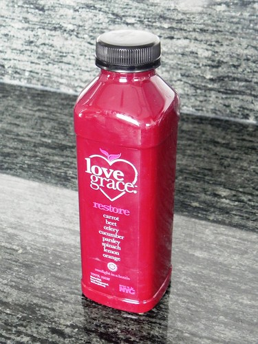 Juice cleanse review love grace foods chef amber shea this classic green juice combo is fairly strong but well executed with enough apple to take the edge off its definitely produce packed and is probably malvernweather Gallery