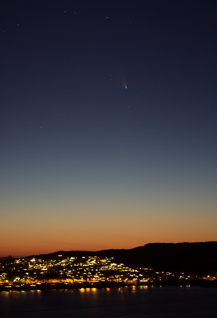 Comet PanSTARRS over Askøy