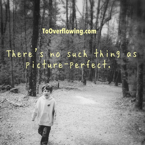 No picture perfect.
