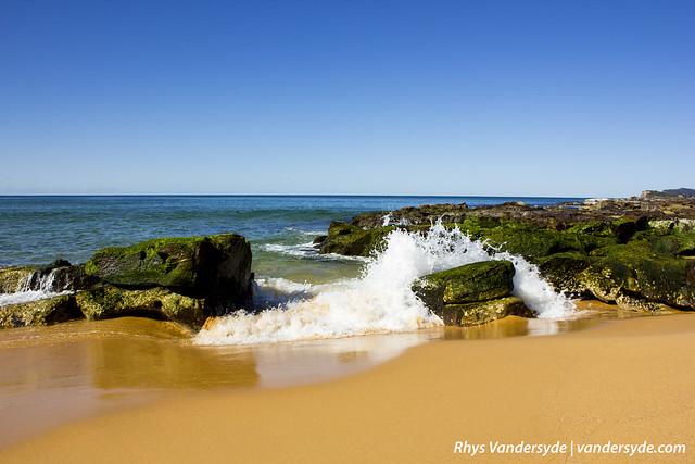 Waves at Wamberal Beach