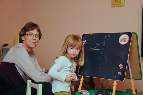 Drawing With Grandma