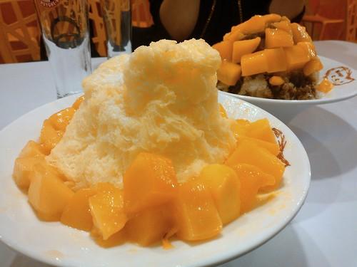 Mango Snowflake Ice
