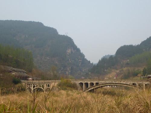 Hunan13-Parc-Telepherique-Vers Wulingyuan (58)