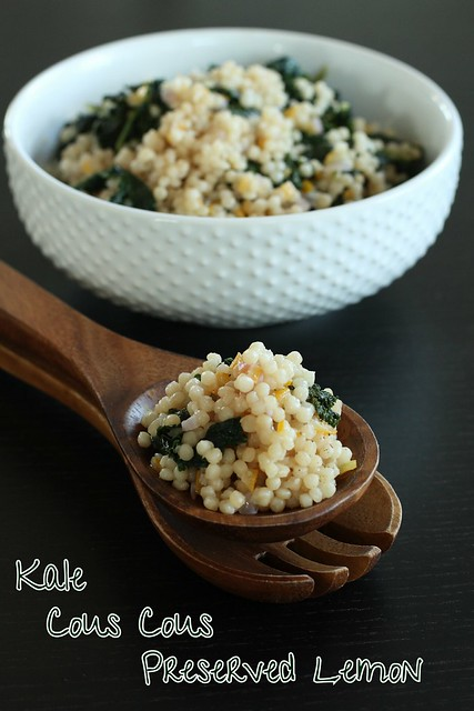 Cous Cous with Kale and Preserved Lemon 5