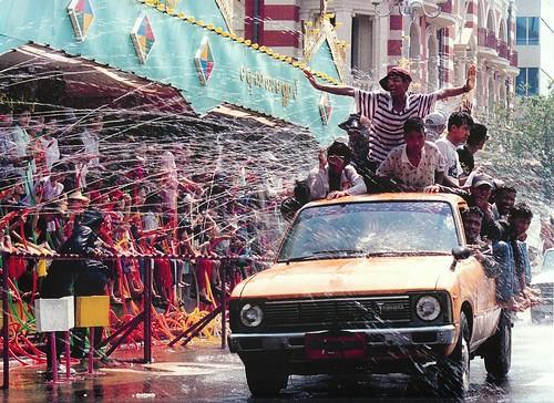 Burmese Water Festival