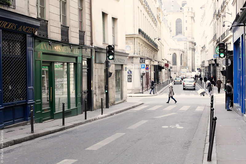 Parisian streets by Carin Olsson (Paris in Four Months)