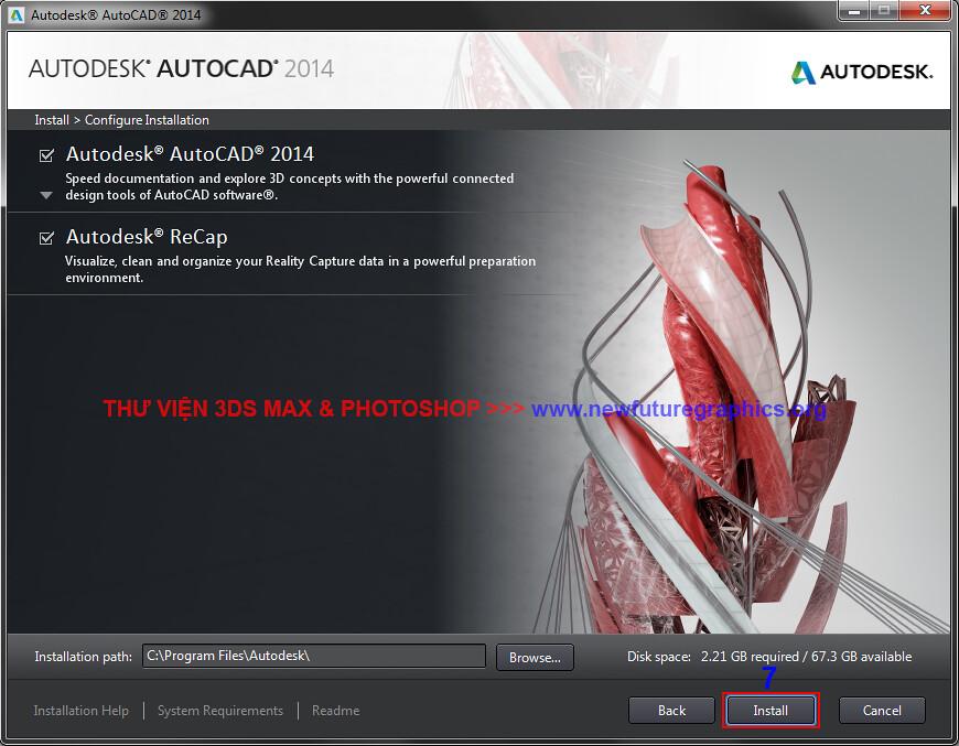 hướng dẫn crack autocad 2014 32bit