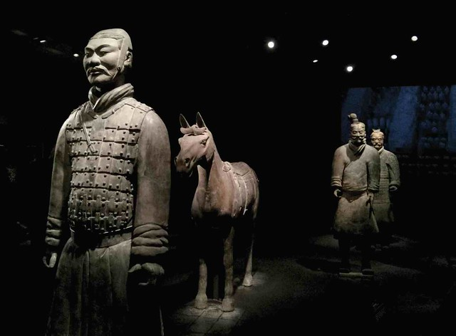Armored Terracotta Warrior by CC user donotlick on Flickr