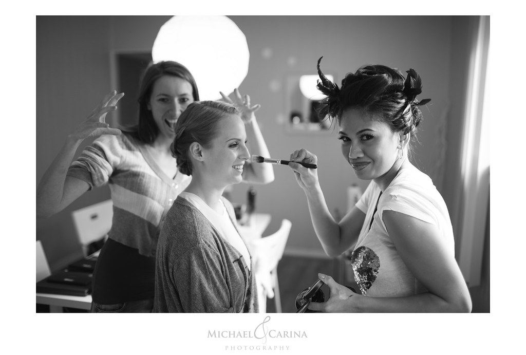 Behind the Scenes | Hair by Alice | Theresa Little | Hair by Alice } Michael and Carina Photography