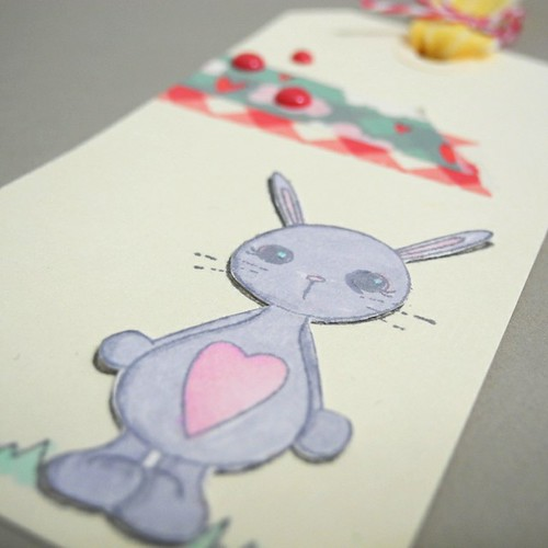 Hoppy Easter Tag (detail)