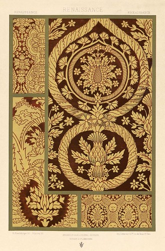 006-L'ornement des tissus recueil historique et pratique-Dupont-Auberville-1877- Biblioteca  Virtual del Patrimonio Bibliografico