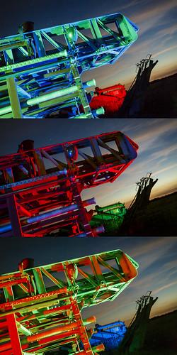 RGB Ladder Triptych