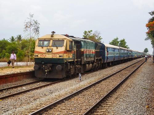 indianrailways ir hublibangalore ublsbc 56516 passenger ubl hubli wdg4 emd mallasandra mlsa swr