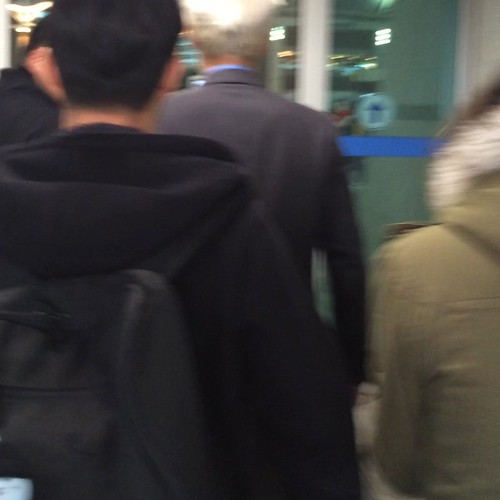 G-Dragon & TOP - Incheon Airport - 30jan2015 - TOP - whereismytop - 01