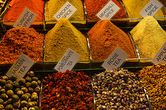 Epices et thés colorés Spices and teas _3322