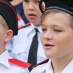 1 сентября в школе им.А.В.Суворова в Геленджике
