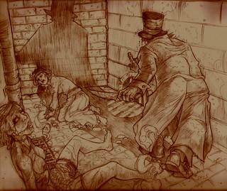 Jack el destripador (boceto de Crispawn).