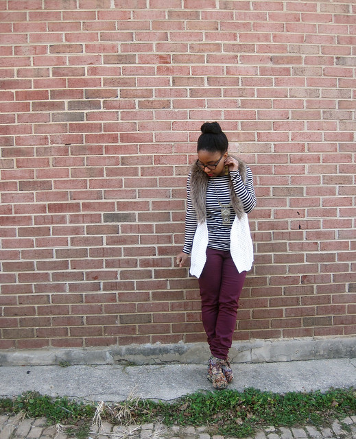 maroon stripes and fur 2
