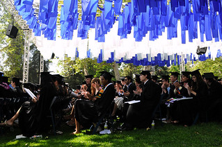 The Pomona College Class of 2010 at Commencement in May