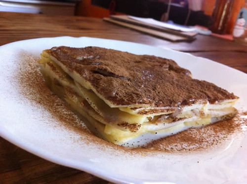 Apfel-Mandelcreme-Torte
