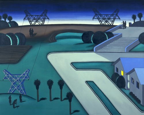 Roger Brown, Natural Bridge, 1971, Oil on canvas