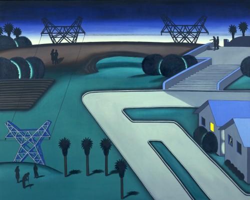 Roger Brown, Natural Bridge, 1971, Oil on canvas