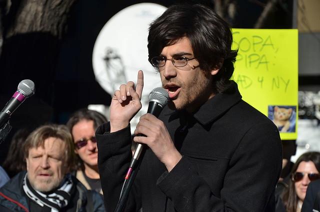 Header of Aaron Swartz