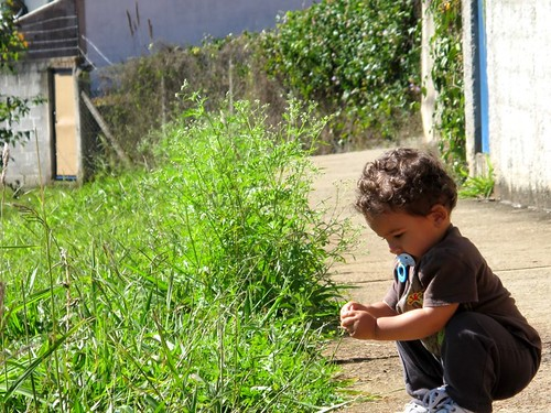 taking it slow in Brazil with 1-yr-old Gabriel