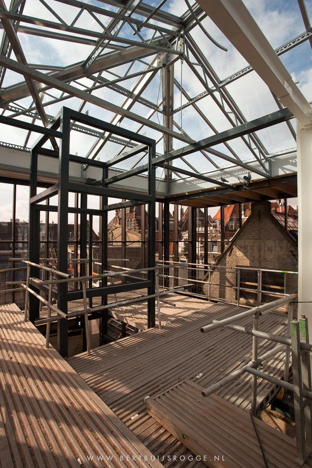 Renovation progress Fabriek van Delfshaven