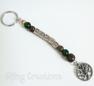 Druid Tree Keychain