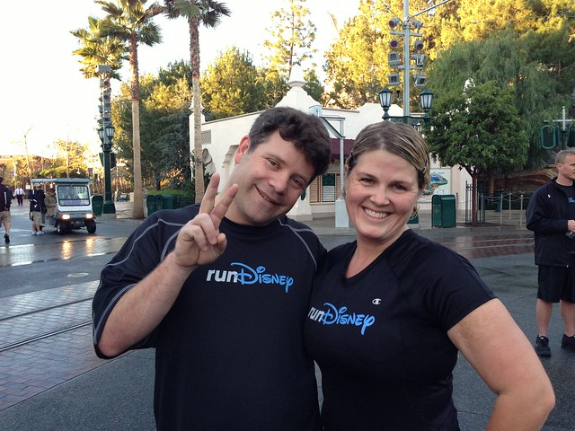 Sean Astin and me. runDisney Tinker Bell Half Marathon meet-up 2013