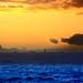 WINTER SUNSET ALGIER'S BAY