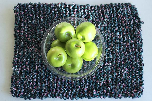 Knitted Trivet 2