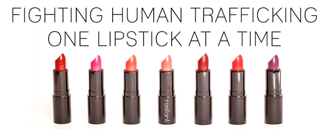 radiance human trafficking awareness month lipstick my fair vanity 6
