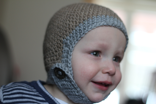 Little Man's new hat