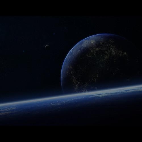 [フリー画像素材] グラフィック, 宇宙, 地球 ID:201302011200