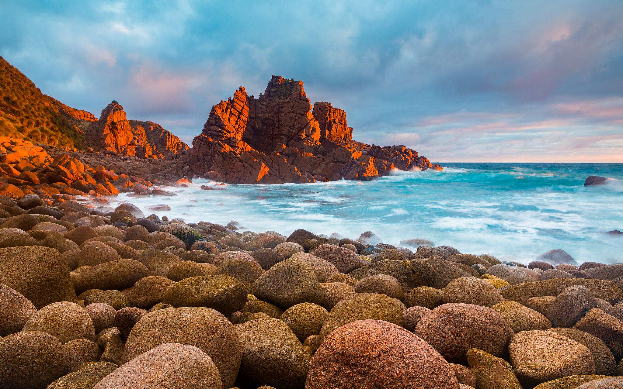 Sunset phillip island