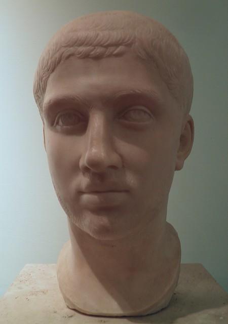 Bust of emperor Alexander Severus (222-235 AD), Civico museo archeologico di Milano